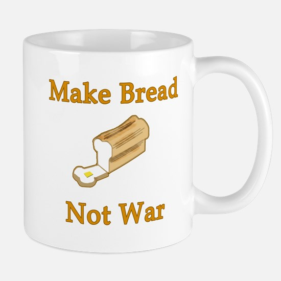 Make Bread Not War Mug