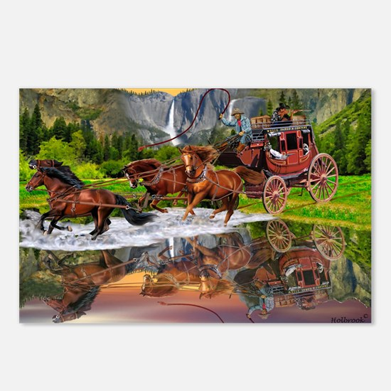 Wells Fargo Stagecoach Postcards (Package of 8)