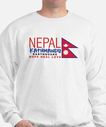 Nepal Earthquake Sweatshirt