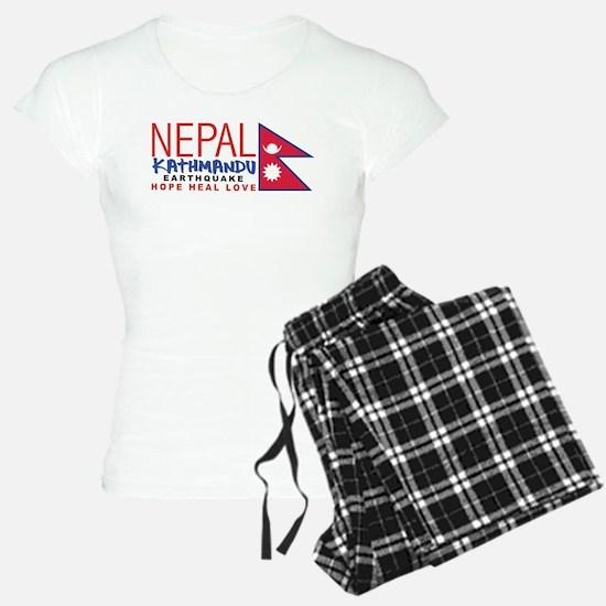 Nepal Earthquake Pajamas