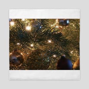 Perfect Christmas ornaments Queen Duvet