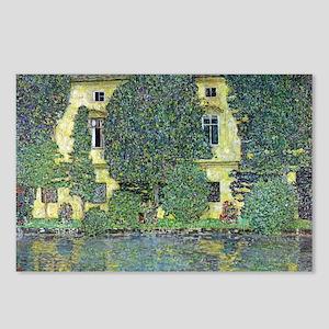 Schloss Kammer By Gustav Postcards (Package of 8)