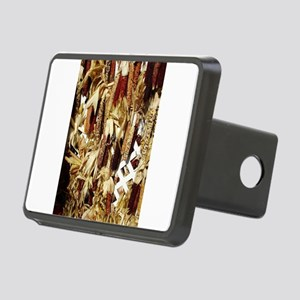 Maize display during fall Rectangular Hitch Cover