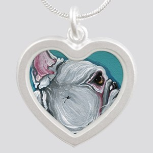 White French Bulldog Necklaces