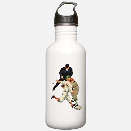 Vintage Sports Basebal Water Bottle