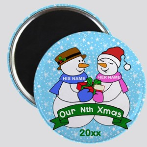 Our Nth Christmas Magnets