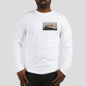 Long Sleeve T-Shirt:iron Maiden-The Trawler