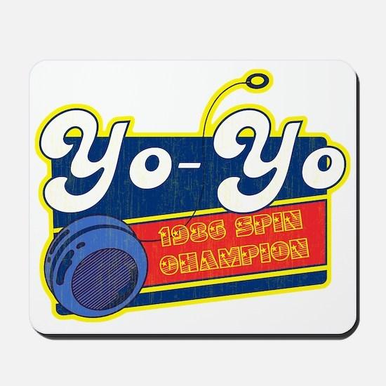 Yo-Yo Mousepad