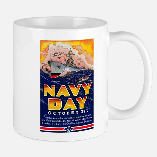 Navy Day for Sailors Mug