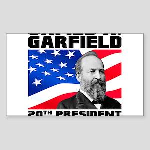 20 Garfield Sticker (Rectangle)