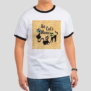 The Cat's Meow Orange T-Shirt