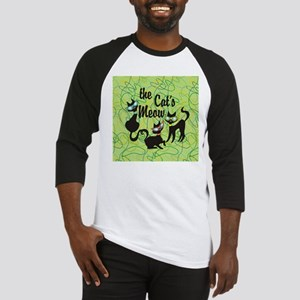The Cat's Meow Green Baseball Jersey