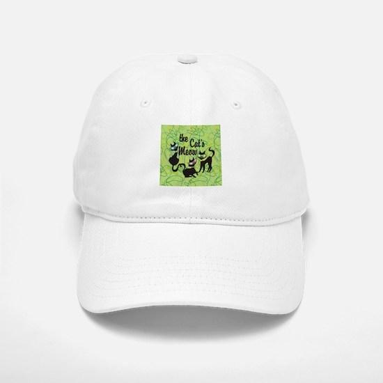 The Cat's Meow Green Baseball Baseball Baseball Cap