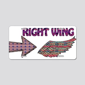 Right wing Americana Aluminum License Plate