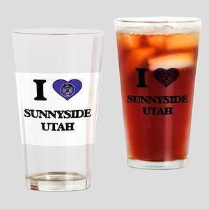 I love Sunnyside Utah Drinking Glass