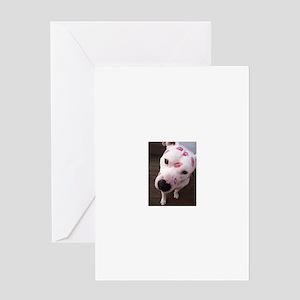 Pitbull Greeting Cards