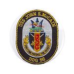 USS JOHN S. MCCAIN Button