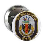 "USS JOHN S. MCCAIN 2.25"" Button"