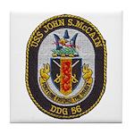 USS JOHN S. MCCAIN Tile Coaster