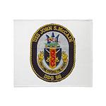USS JOHN S. MCCAIN Throw Blanket