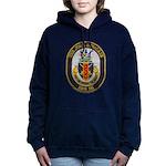 USS JOHN S. MCCAIN Women's Hooded Sweatshirt