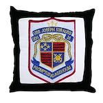 USS JOSEPH STRAUSS Throw Pillow