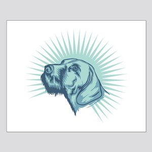 German Wirehaired Pointer Small Poster
