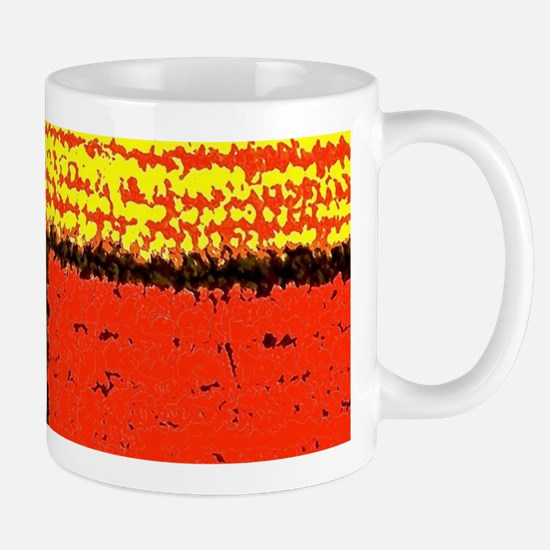 Textured Rectangles Mugs