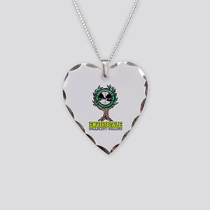 Envirodale Community College Necklace Heart Charm