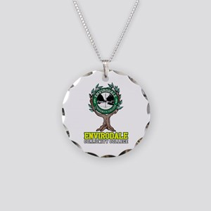 Envirodale Community College Necklace Circle Charm
