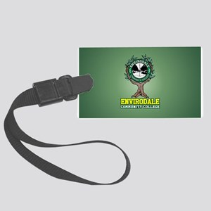 Envirodale Community College Large Luggage Tag