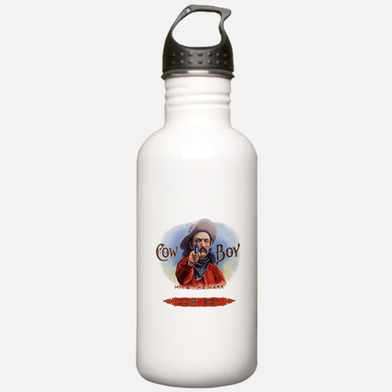 Vintage Cigar Label Co Water Bottle