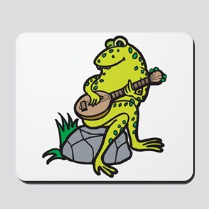 Silly Frog Play Guitar Mousepad
