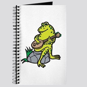 Silly Frog Play Guitar Journal