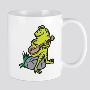 Silly Frog Play Guitar Mug