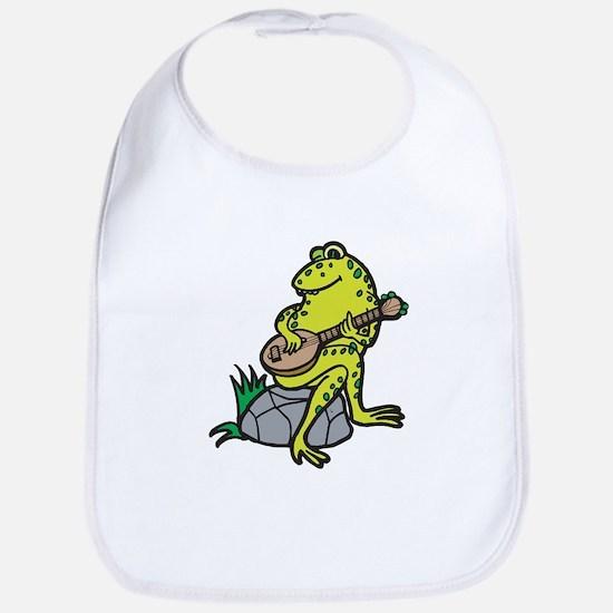 Silly Frog Play Guitar Bib