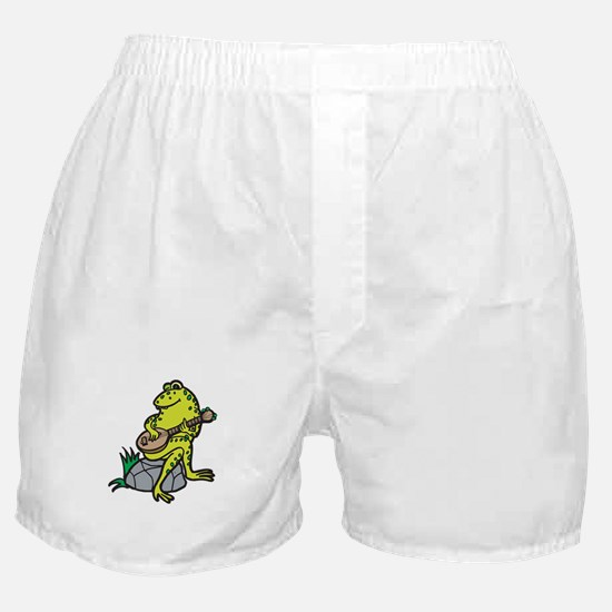 Silly Frog Play Guitar Boxer Shorts