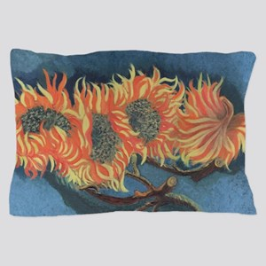 Sunflower Painting Pillow Case