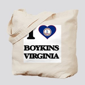 I love Boykins Virginia Tote Bag