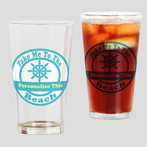 Custom Beach Drinking Glasses