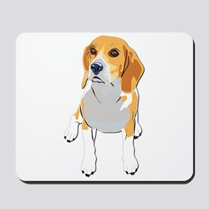Beagles without text Mousepad