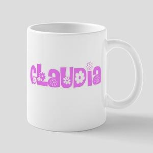 Claudia Flower Design Mugs