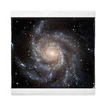 Messier 101 Spiral Galaxy Queen Duvet Cover
