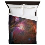Hubble Telescope Orion Nebula Queen Duvet Cover