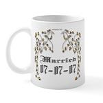 Anniversary Married 07/07/07 Mug