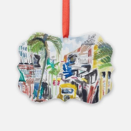 St Maarten Alley Ornament