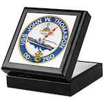 USS JOHN W. THOMASON Keepsake Box