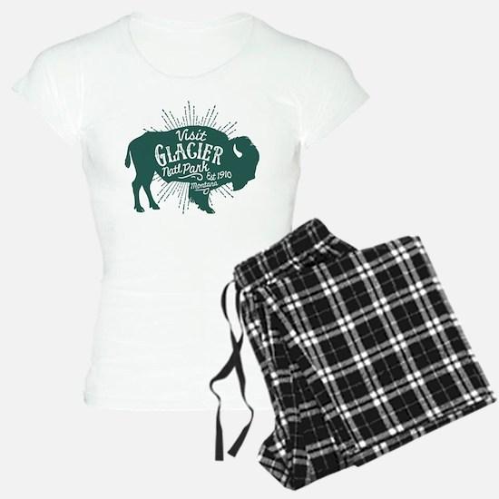 Glacier Buffalo Sunburst Gr Pajamas