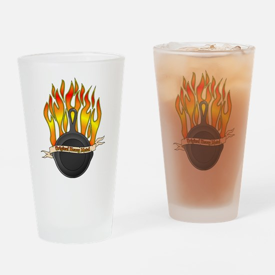Cool Flame Drinking Glass