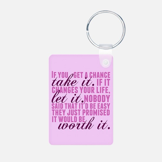 Take a Chance Keychains